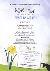 schedule front page